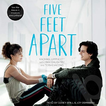 Five Feet Apart - Συγγραφέας : Rachael Lippincott , Mikki Daughtry , Tobias Iaconis   (Αγγλική Έκδοση)