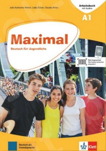 Maximal A1, Arbeitsbuch mit Audios online + Klett Book-App(Βιβλίο Ασκήσεων)