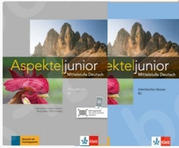 Aspekte junior B2, Arbeitsbuch mit Audio DL+GLOSSAR (SET 2 TEMX)(Βιβλίο Ασκήσεων & Γλωσσάριο).