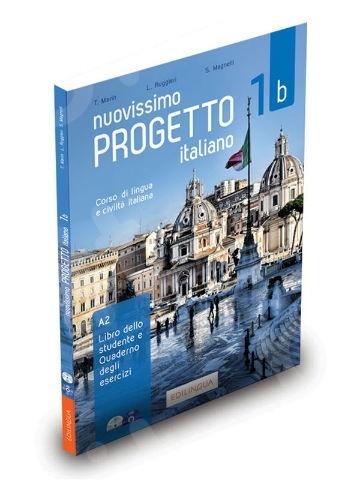 Nuovissimo Progetto italiano 1b – Libro & Quaderno (+ CD audio + DVD Video)(Μαθητή & Ασκήσεων)