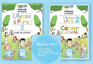 Ulysse à Paris 2 (pack élève) (Πακέτο Μαθητή)