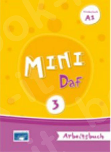 Mini DaF 3 - Arbeitsbuch(Βιβλίο Ασκήσεων) (Εκδόσεις Κουναλάκη)