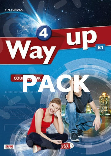 Way Up 4  - Πακέτο Όλα τα Βιβλία της τάξης (Grivas)