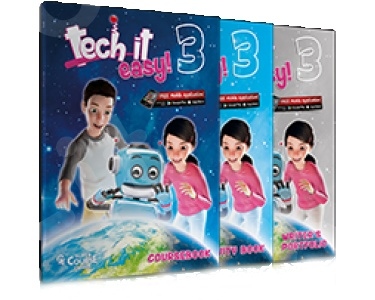 Super Course - Tech it easy 3 - Πλήρες  Πακέτο Μαθητή με iBook