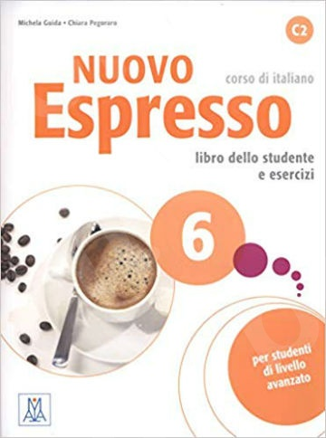 Nuovo Espresso 6(C2): Libro Studente e esercizi + CD Audio(Βιβλίο Μαθητή + CD)