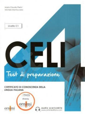 CELI 4 - Test di preparazione (+CD) (Βιβλίο του μαθητή)