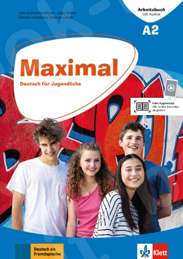 Maximal A2, Arbeitsbuch mit Audios DL & Klett Book-App (Βιβλίο Ασκήσεων)