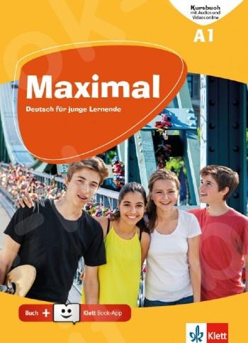 Maximal A1,Kursbuch mit Audios und Videos online + Klett Book-App (για 12μηνη χρήση)(Βιβλίο Μαθητή)