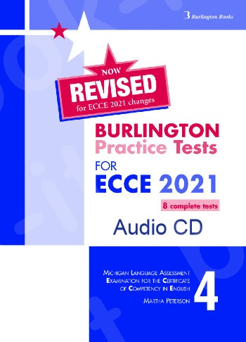 Burlington Practice Tests for Michigan ECCE - Book 4 - Class Audio CDs (Set of 4) -  2021