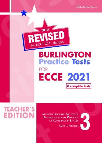 Burlington Practice Tests for Michigan ECCE - Book 3 - Teacher's Book - Revised (Ανανεωμένη έκδοση 2021)