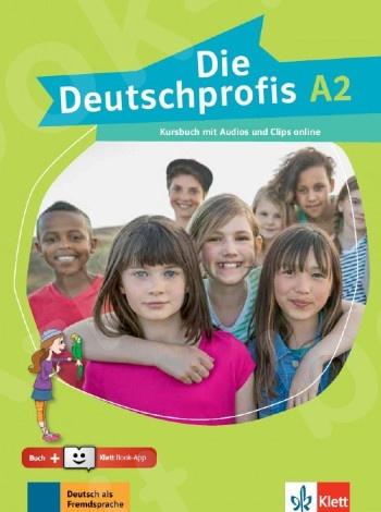 Die Deutschprofis A2, Kursbuch mit Audios und Clips online + Klett Book-App (για 12μηνη χρήση)(βιβλίο του μαθητή)