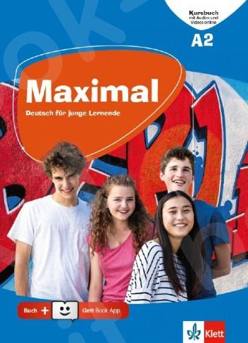 Maximal A2, Kursbuch mit Audios und Videos online + Klett Book-App-Code (για 12μηνη χρήση)(Βιβλίο Μαθητή)