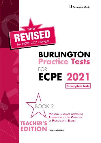 Burlington Practice Tests for Michigan ECPE - Book 2 - Teacher's Book (Βιβλίο Καθηγητή) - Revised (Ανανεωμένη έκδοση 2021)