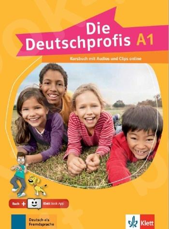 Die Deutschprofis A1, Kursbuch mit Audios und Clips online + Klett Book-App (για 12μηνη χρήση)(βιβλίο του μαθητή)