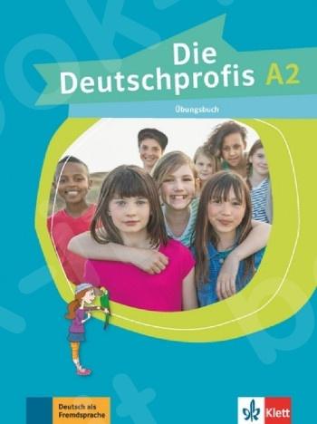 Die Deutschprofis A2, Übungsbuch + Klett Book-App (για 12μηνη χρήση) (βιβλίο ασκήσεων)