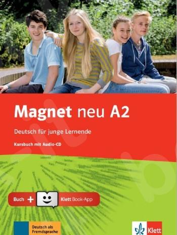 Magnet neu A2, Kursbuch mit Audio-CD + Klett Book-App (για 12μηνη χρήση)(Βιβλίο του μαθητή)