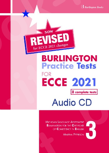 Burlington Practice Tests for Michigan ECCE - Book 3 - Class Audio CDs (Set of 4) - Revised (Ανανεωμένη έκδοση 2021)