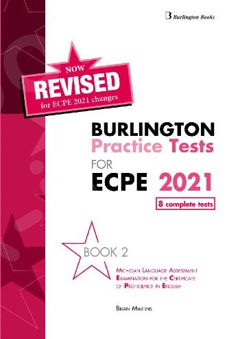 Burlington Practice Tests for Michigan ECPE - Book 2 - Student's Book (Βιβλίο Μαθητή) - Revised (Ανανεωμένη έκδοση 2021)