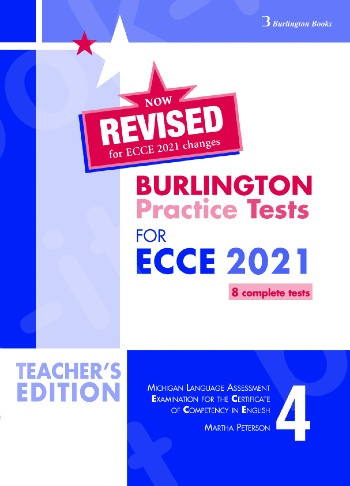 Burlington Practice Tests for Michigan ECCE - Book 4 - Teacher's Book (Καθηγητή)(Ανανεωμένη έκδοση 2021)