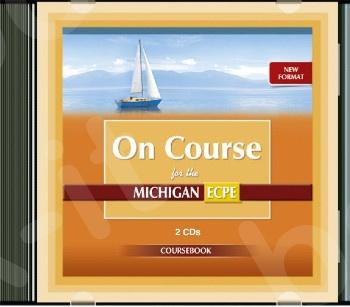 New Format On Course For Michigan Proficiency ECPE - Audio CD's (Ακουστικά CD's)(2) 2021!!