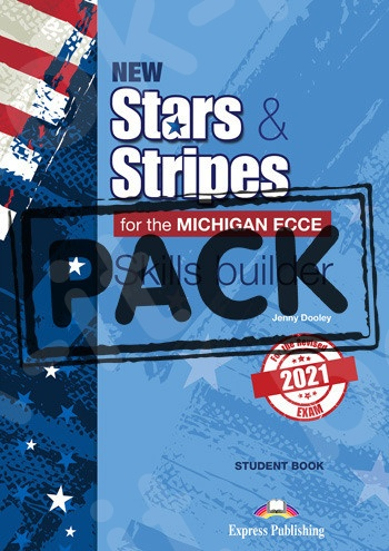 New Stars & Stripes For The Michigan ECCE For The Revised 2021 Exam - Skills Builder Student's (with DigiBooks App)(2021)