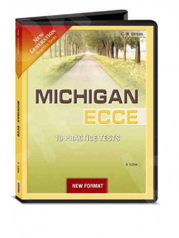 New Generation Michigan ECCE (10 Practice Tests) - Class Audio CDs (Grivas) - New Format 2021