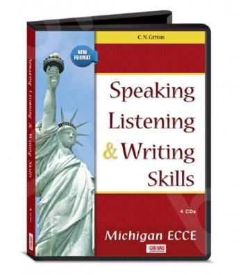 Speaking Listening & Writing Skills ECCE - (4)CDs(Grivas) - New Format 2021