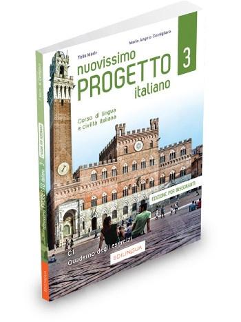 Nuovissimo Progetto Italiano 3(C1) - Quaderno degli esercizi – Edizione per insegnanti 2020!!!