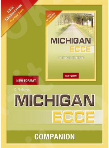 New Generation Michigan ECCE (10 Practice Tests) - Companion(Grivas)  - New Format 2021