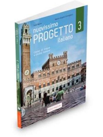 Nuovissimo Progetto Italiano 3(C1) - Libro dello studente (+ DVD Video)(Βιβλίο του μαθητή) 2020!!!