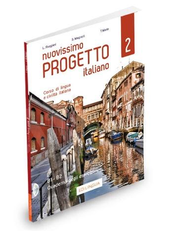 Nuovissimo Progetto Italiano 2(B1-B2) - Quaderno degli esercizi (+ 2 CD audio)(Βιβλίο Ασκήσεων) 2020!!!