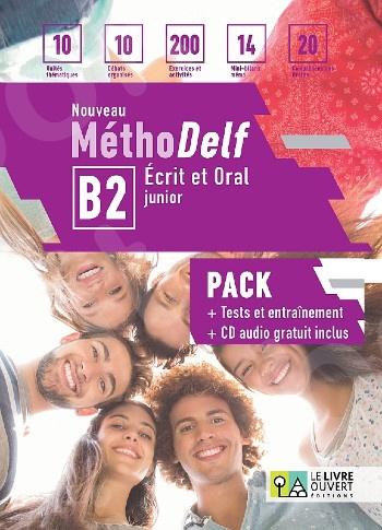 Nouveau Méthodelf B2 Ecrit et Oral - Pack Élève (Livre + Tests)(Μαθητή)2020