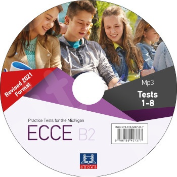 Tower Bridge Books - Practice Tests for the NEW FORMAT 2021 ECCE B2 - Mp3 - Audio Cd(1)