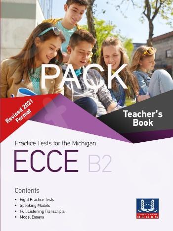Tower Bridge Books - Practice Tests for the NEW FORMAT 2021 ECCE B2 - Teacher's Pack (Teacher's Book +  (Audio Cd (Mp3))  (Πακέτο - Καθηγητή)