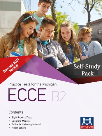 Tower Bridge Books - Practice Tests for the NEW FORMAT 2021 ECCE B2 - Self-Study Pack (Student's Book + Key + Mp3 (Audio Cd (1))  (Πακέτο)