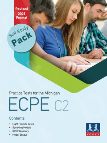Tower Bridge Books - Practice Tests for the NEW FORMAT 2021 ECPE C2 - Self-Study Pack (Student's Book + Key + Mp3 (Audio Cd (1))  (Πακέτο)