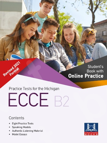 Tower Bridge Books - Practice Tests for the NEW FORMAT 2021 ECCE B2 - Student's Book with Online Practice(2021)