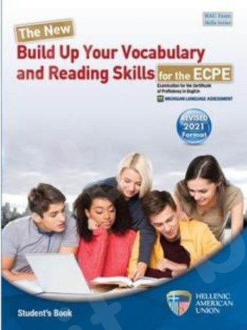 The New Build Up Your Vocabulary and Reading Skills for the ECPE - Student's Book (Βιβλίο Μαθητή)(Rev. 2021 Format)