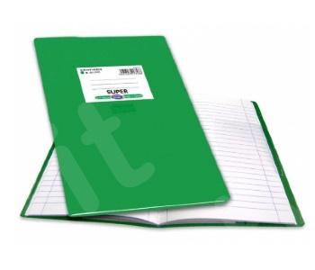 SKAG Τετράδιο εξήγηση Super Πρασινο  50 Φύλλων Ριγέ