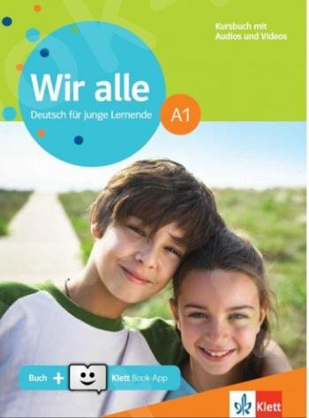 Wir alle A1, Kursbuch mit Audios & Videos online(βιβλίο μαθητή)