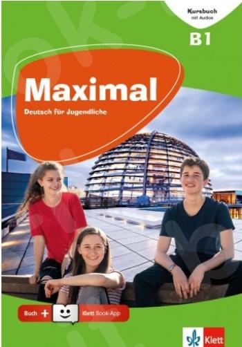 Maximal B1, Kursbuch mit Audios und Videos online + Klett Book-App-Code (για 12μηνη χρήση)(Βιβλίο Μαθητή)