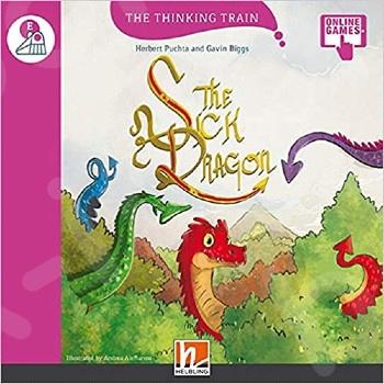 The Sick Dragon + Access Code (The Thinking Train E) - Συγγραφέας: Puchta Herbert (Αγγλική Έκδοση)