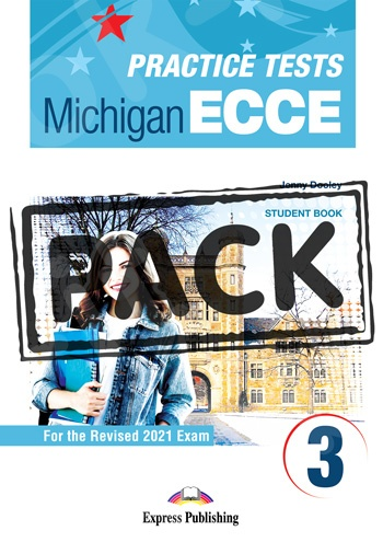 New Practice Tests for the Michigan ECCE 3 for the Revised 2021 Exam - Student's Book (with DigiBooks App)