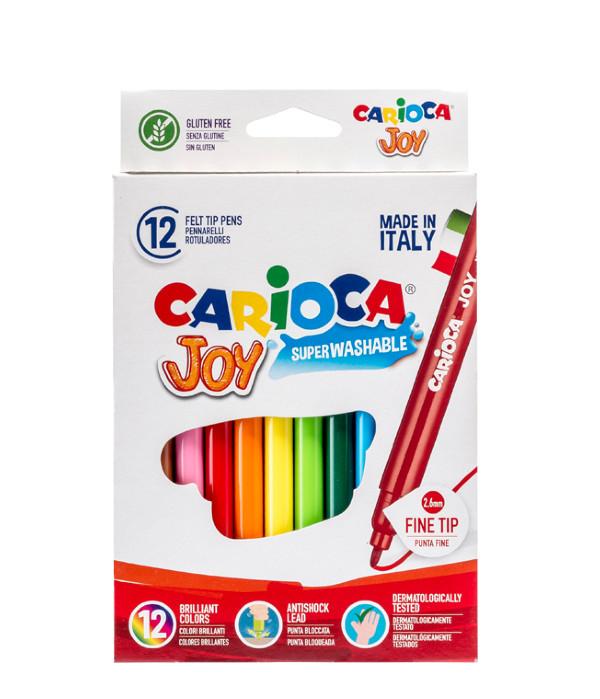 CARIOCA ΜΑΡΚΑΔΟΡΟΙ Χάρτινο Κουτί 12 Χρώματα