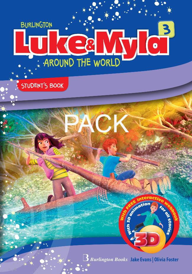 Burlington Luke & Myla 3 - ΠΑΚΕΤΟ Όλα τα βιβλία της τάξης