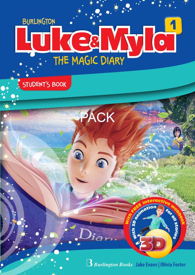 Burlington Luke & Myla 1 - ΠΑΚΕΤΟ Όλα τα βιβλία της τάξης