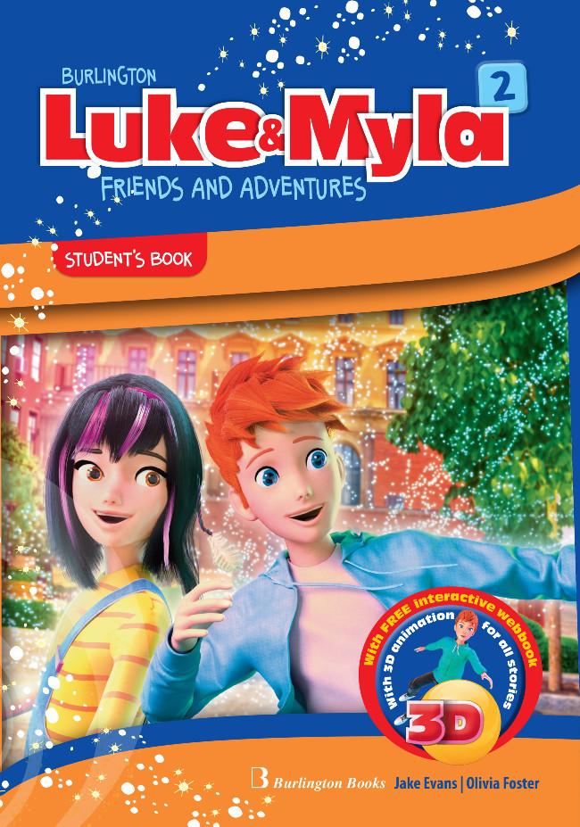 Burlington Luke & Myla 2 - Student's Book