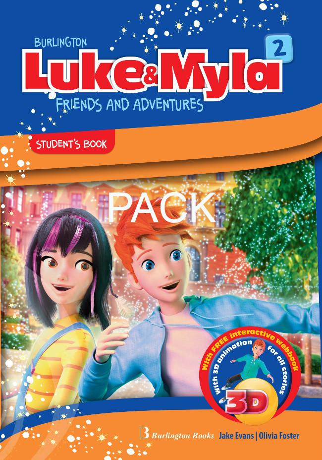 Burlington Luke & Myla 2 - ΠΑΚΕΤΟ Όλα τα βιβλία της τάξης