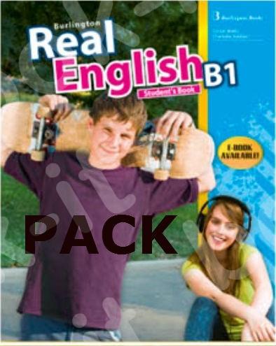 Burlington Real English B1 - ΠΑΚΕΤΟ Όλα τα βιβλία της τάξης
