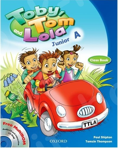Toby, Tom and Lola A - Student's Book & Reader & Cd Rom (Βιβλίο Μαθητή)